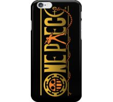 one piece trafalgar law anime manga shirt iPhone Case/Skin