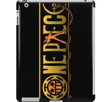 one piece trafalgar law anime manga shirt iPad Case/Skin