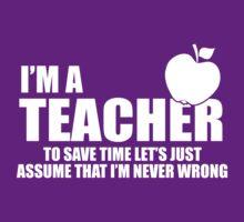 I'M A TEACHER by imprasunna