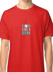 Floss like a boss geek funny nerd Classic T-Shirt
