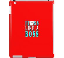 Floss like a boss geek funny nerd iPad Case/Skin