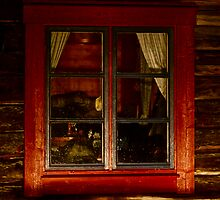Cottage window. Lappland - Sweden . by Brown Sugar . Views ( 182) thank you very much ! by AndGoszcz