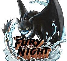 The Fury of the Night by litzebitz