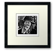 Beijing Homeless Framed Print