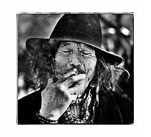 Beijing Homeless Photographic Print