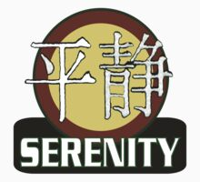 Serenity Logo w/Chinese Characters by Quatrosales
