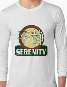 Serenity Logo w/Chinese Characters Long Sleeve T-Shirt