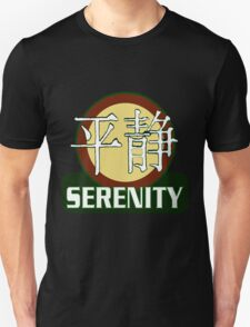 Serenity Logo w/Chinese Characters T-Shirt