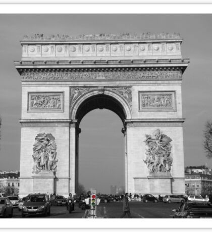 Arc De Triomphe III Sticker