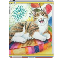 """I am magnificent, from the childrens book """" The magnificent cat"""" by Sharon Thompson available on amazon iPad Case/Skin"""