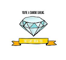Diamond Darling Photographic Print