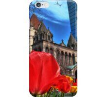 Boston in Bloom iPhone Case/Skin