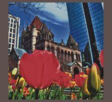 Boston in Bloom Baby Tee