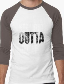 Straight OUTTA Tatooine - Star Wars - distressed Men's Baseball ¾ T-Shirt