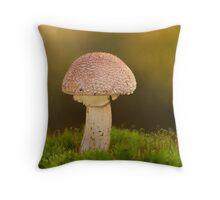 Amanita pantherina Throw Pillow