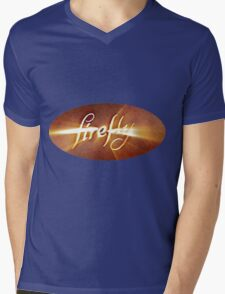 Firefly: Episode Opening Logo Mens V-Neck T-Shirt