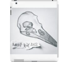 Crow Skull iPad Case/Skin