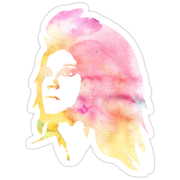 watercolor girl by DAVO532