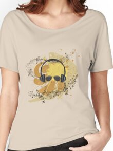 Male Dj Illustration 3 Women's Relaxed Fit T-Shirt