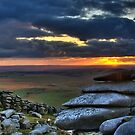Roughtor Sunset by David Wilkins