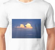 heavy clouds over the sea Unisex T-Shirt
