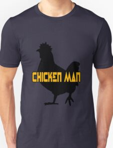 Chicken man geek funny nerd Unisex T-Shirt