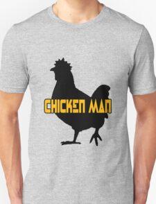 Chicken man geek funny nerd T-Shirt