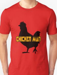 Chicken man geek funny nerd T-Shirt