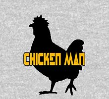 Chicken man geek funny nerd Unisex T-Shirt