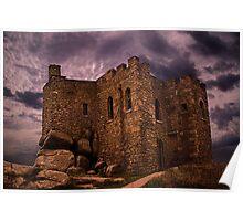 Carn Brae Castle Poster
