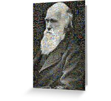 Darwin Mosaic Greeting Card