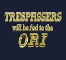 Trespassers Will Be Fed to the Ori - Dark Backgrounds by MGR Productions