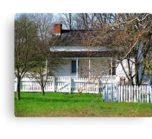 Lydia Leister Home, Gettysburg Battlefield Canvas Print