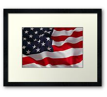 American Phone Framed Print