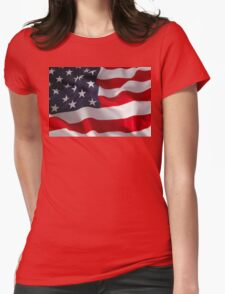 American Phone Womens Fitted T-Shirt