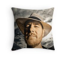 ...Fred Smith, Musician... Throw Pillow
