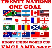 Twenty Nations One Goal T Shirts and Gifts by zandosfactry