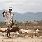 Khmer Salt Farmer by Anthony and Kelly Rae