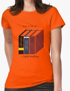 Light Reading Womens Fitted T-Shirt