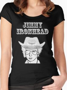 Jimmy Ironhead - Cowpunk Women's Fitted Scoop T-Shirt