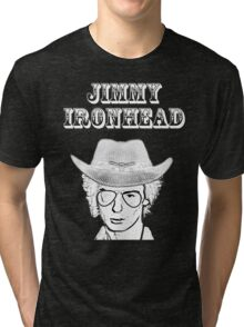 Jimmy Ironhead - Cowpunk Tri-blend T-Shirt