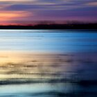 Lakeside Sunset by Vince Russell