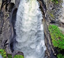Maligne Canyon, Jasper National Park, Alberta, Canada by Adrian Paul