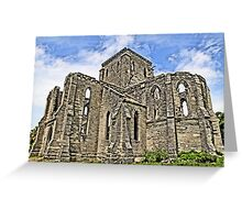 Unfinished Church Greeting Card