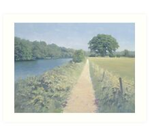 River Thames between Scours Lane and Caversham Art Print