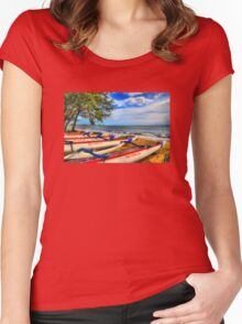 Maui Canoe Club Women's Fitted Scoop T-Shirt