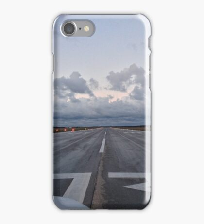 Cleared for takeoff iPhone Case/Skin