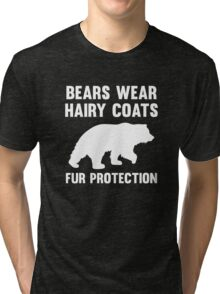 Fur Protection Tri-blend T-Shirt