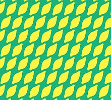 Sour Lemons Summer Pattern by DoucetteDesigns