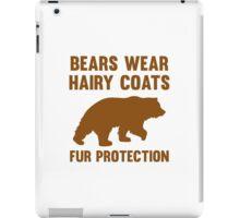 Fur Protection iPad Case/Skin